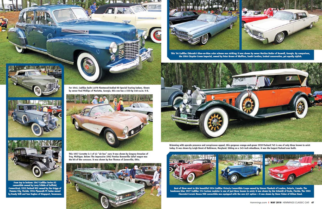 Hemmings Classic Car Hilton Head Island Concours DElegance - Hilton head car show